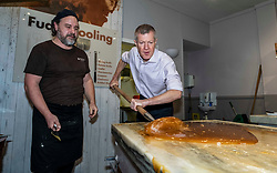 Pictured: Will Tebbutt watches as Willie Rennie gets involved<br />