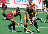 Esther TERMENS and Tarryn BRIGHT during the BDO Women's Champions Challenge 1 match between South Africa and Spain held at the Hartleyvale Stadium in Cape Town, South Africa on the 17 October 2009 ..Photo by RG/www.sportzpics.net.+27 21 (0) 21 785 6814