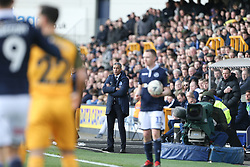 Brighton and Hove Albion manager Chris Hughton watches on - Mandatory by-line: Arron Gent/JMP - 17/03/2019 - FOOTBALL - The Den - London, England - Millwall v Brighton and Hove Albion - Emirates FA Cup Quarter Final