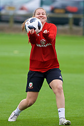 NEWPORT, WALES - Tuesday, June 5, 2018: Wales' Alice Griffiths during a training session at Dragon Park ahead of the FIFA Women's World Cup 2019 Qualifying Round Group 1 match against Bosnia and Herzegovina. (Pic by David Rawcliffe/Propaganda)
