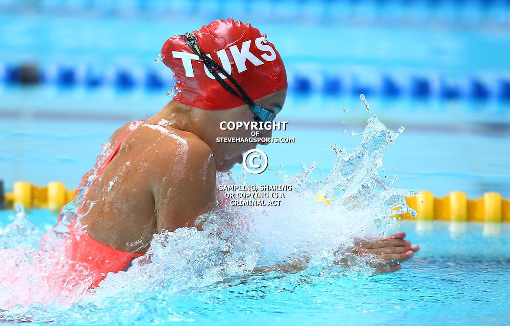 DURBAN, SOUTH AFRICA, February 6 2016 - Tatjana Schoenmaker Women 50m  LC Breaststroke during Day 3  the second&nbsp;leg of the 2016 South African Swimming Grand Prix series at the  Kings Park Swimming Pool Durban South Africa. (Photo by Steve Haag)<br /> Images for social media must have consent from Steve Haag