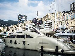 September 24, 2016 - Monaco, Monaco - Super Yacht 'Midnight Sun'' pictured in Port Hercules for the 26th Monaco Yacht Show with some 125 of the most desirable superyachts from around the world on display between 28 September and 1 October. The Monaco Yacht Show is held in Port Hercules, and is Europe's biggest in-water display of superyachts. (Credit Image: © Hugh Peterswald/Pacific Press via ZUMA Wire)