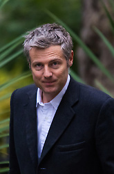 Downing Street, London, October 20th 2015.  Tory Mayoral candidate Zac Goldsmith arrives at 10 Downing Street as senior government figures including Mayor of London Boris Johnson attend the weekly cabinet meeting.