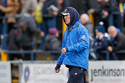 Bristol Rugby Forwards Coach Mark Bakewell looks on - Mandatory byline: Rogan Thomson/JMP - 27/03/2016 - RUGBY UNION - Castle Park - Doncaster, England - Doncaster Knights v Bristol Rugby - Greene King IPA Championship.