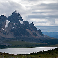 The Ramparts. Tonquin Valley. Jasper National Park, Alberta, Canada.