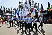 Israeli Police Academy Marching out Parade
