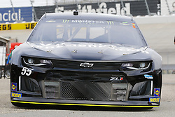 May 5, 2018 - Dover, Delaware, United States of America - Reed Sorenson (55) brings his car through the garage during practice for the AAA 400 Drive for Autism at Dover International Speedway in Dover, Delaware. (Credit Image: © Chris Owens Asp Inc/ASP via ZUMA Wire)