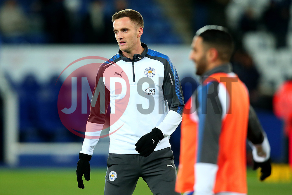 Andy King of Leicester City - Mandatory by-line: Robbie Stephenson/JMP - 28/11/2017 - FOOTBALL - King Power Stadium - Leicester, England - Leicester City v Tottenham Hotspur - Premier League
