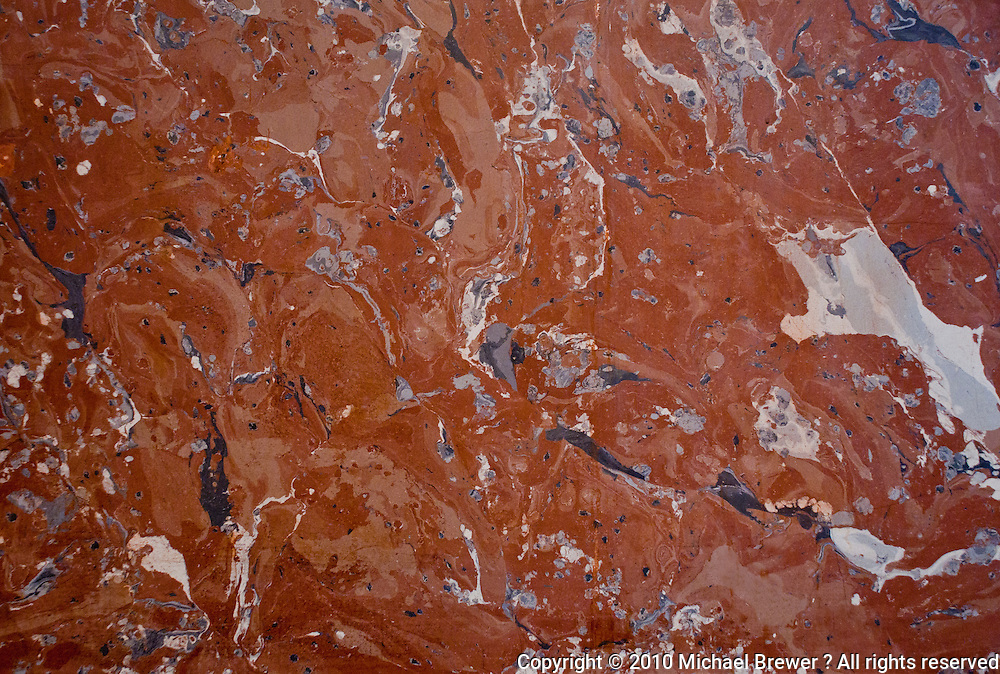 Marble texture on wall of Louvre, Paris