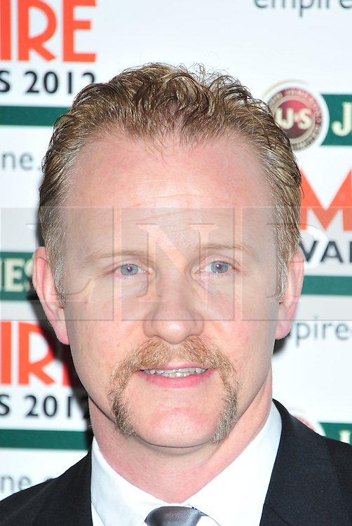 © Licensed to London News Pictures. 25/03/2012. London, England. Morgan Spurlock attends the  Jameson Empire Awards held at the Grosvenor Hotel London  Photo credit : ALAN ROXBOROUGH/LNP