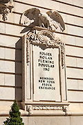 Architectural image of the Folger Building in Washington DC by Jeffrey Sauers of Commercial Photographics, Architectural Photo Artistry in Washington DC, Virginia to Florida and PA to New England