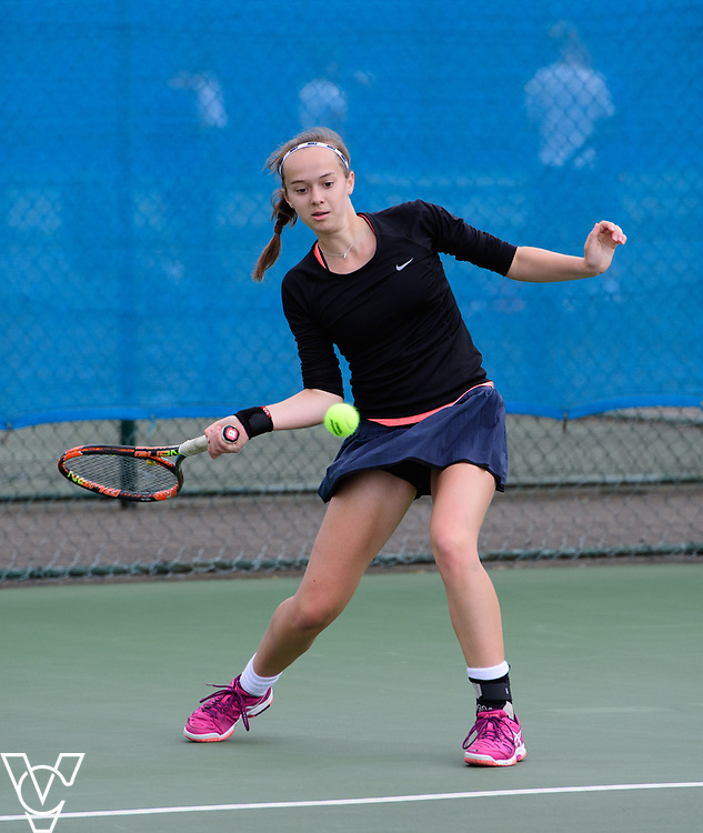 Aberdare Cup - Talbot Heath School B - Jess Holloway<br /> <br /> Team Tennis Schools National Championships Finals 2017 held at Nottingham Tennis Centre.  <br /> <br /> Picture: Chris Vaughan Photography for the LTA<br /> Date: July 14, 2017