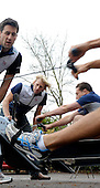 20091111 Varsity, Rugby/Rowing, Ergo Challenge, Molesey. England. UK