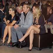 NLD/Amsterdam/20121013- LAF Fair 2012 VIP Night, Victoria Koblenko, Christiaan Looman en vriendin