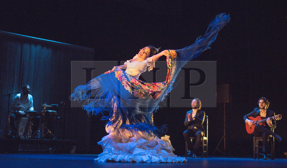Gala Flamenco, Sadler's Wells. Patricia Guerrero dances with the bata de cola