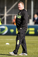 Northampton Saints forwards coach Dorian West before the LV Cup Final match at Sandy Park, Exeter<br /> Picture by Andy Kearns/Focus Images Ltd 0781 864 4264<br /> 16/03/2014