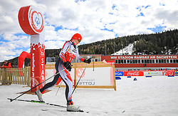 17.03.2017, Ramsau am Dachstein, AUT, Special Olympics 2017, Wintergames, Langlauf, Divisioning 5 km Freestyle, im Bild Adela Savlova (CZE) // during the Cross Country Divisioning 5 km Freestyle at the Special Olympics World Winter Games Austria 2017 in Ramsau am Dachstein, Austria on 2017/03/17. EXPA Pictures © 2017, PhotoCredit: EXPA / Martin Huber