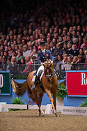 Hannah Biggs (GBR) & Weltzin - Grand Prix Freestyle - Reem Acra FEI World Cup Dressage Qualifier - The London International Horse Show Olympia - Olympia, London, United Kingdom - 18 December 2012