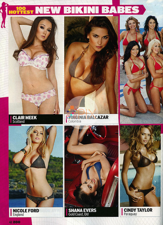 Cindy Taylor in ZOO WEEKLY Australia :: August 2010