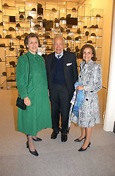 Left to right, SIR MARTIN & LADY JACOMB and LADY LEVER at a reception o celebrate the opening of 'USA Today' - an exhibition of work from The Saatchi Gallery held at The Royal Academy of Arts, Burlington Gardens, London on 5th September 2006.<br /><br />NON EXCLUSIVE - WORLD RIGHTS