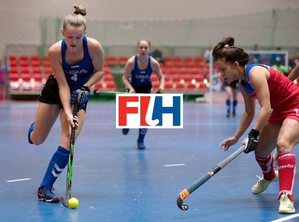 BERLIN - Indoor Hockey World Cup<br /> United States - Namibia<br /> foto: Corinne Zanolli <br /> WORLDSPORTPICS COPYRIGHT FRANK UIJLENBROEK