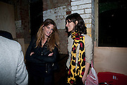 JEMIMA KHAN; BELLA FREUD, Early launch of Rupert's. Robin Birley  new premises in Shepherd Market. 6 Hertford St. London. 10 June 2010. .-DO NOT ARCHIVE-© Copyright Photograph by Dafydd Jones. 248 Clapham Rd. London SW9 0PZ. Tel 0207 820 0771. www.dafjones.com.