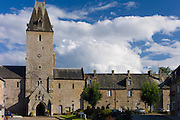 Abbey of Lonlay, Abbaye de Lonlay  in Orne, Normandy, France