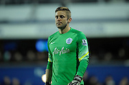 Goalkeeper Robert Green of Queens Park Rangers. Barclays Premier league match, Queens Park Rangers v Leicester city at Loftus Road in London on Saturday 29th November 2014.<br /> pic by John Patrick Fletcher, Andrew Orchard sports photography.