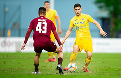 Adam Gnezda Čerin of Domzale during football match between NK Triglav Kranj and NK Domzale in 35th Round of Prva liga Telekom Slovenije 2018/19, on May 22nd, 2019, in Sports park Kranj, Slovenia. Photo by Vid Ponikvar / Sportida