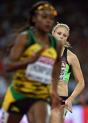 26-08-2015 CHN: IAAF World Championships Athletics day 5, Beijing<br /> Maja Mihalinec SLO on the 200 m<br /> Photo by Ronald Hoogendoorn / Sportida