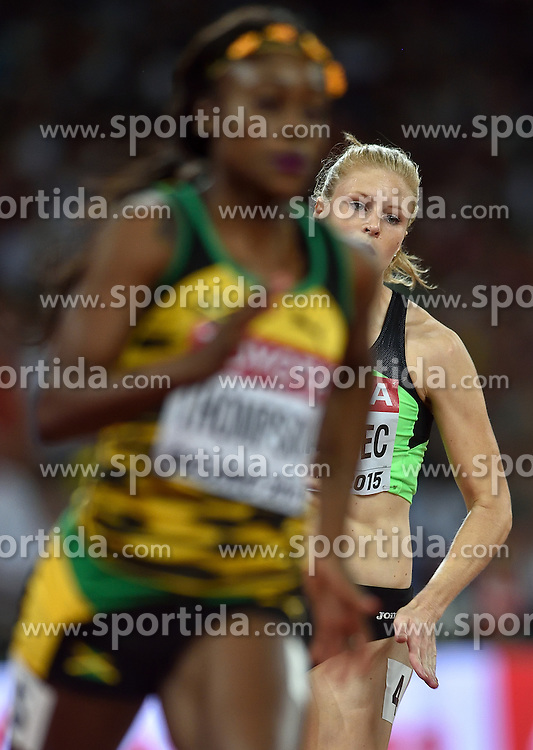 26-08-2015 CHN: IAAF World Championships Athletics day 5, Beijing<br /> Maja Mihalinec SLO on the 200 m<br /> Photo by Ronald Hoogendoorn / Sportida