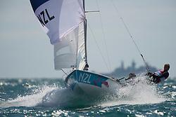 2012 Olympic Games London / Weymouth<br /> 470 men race course<br /> Saunders Jason, Snow-Hansen Paul, (NZL, 470 Men)
