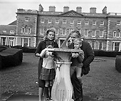 1963 -  Prince Rainier and Princess Grace and family at Carton House, Maynooth.