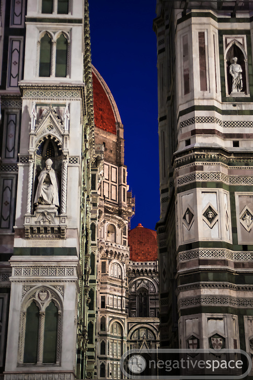 The Duomo at twilight, Florence, Italy