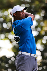 September 22, 2018 - Atlanta, Georgia, United States - Tiger Woods tees off the 17th hole during the third round of the 2018 TOUR Championship. (Credit Image: © Debby Wong/ZUMA Wire)