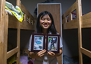 EXCLUSIVE<br /> A DEFECTOR'S LIFE IN SOUTH KOREA<br /> <br /> Kim is 16 years old and lives in Seoul, South Korea. She looks like any other teenager when you see her shopping in the street. But like 28,000 other refugees, she has escaped from North Korea.One morning in 2011, her mother could no longer bear the misery, lack of freedom and food deprivation, so she and her daughter escaped to seek refuge in the wealthy ultra-modern South Korea. Kim was 10 and had to leave the rest of her family, her friends and her school without even having the chance to say goodbye.<br /> They fled their country in secret by crossing on foot and by night the river making up the border with China. Their journey to reach South Korea took eight long months. After making it to China, her mother used her meager savings to pay smugglers to enter Laos, Thailand and finally South Korea. They arrived in the Land of Morning Calm in 2012.<br /> <br /> Photo shows:  There are no pictures of her family in North Korea. She lost everything while crossing the icy river to enter China. The only picture in her possession shows her during a military training in Seoul.<br /> &copy;Eric Lafforgue/Exclusivepix Media