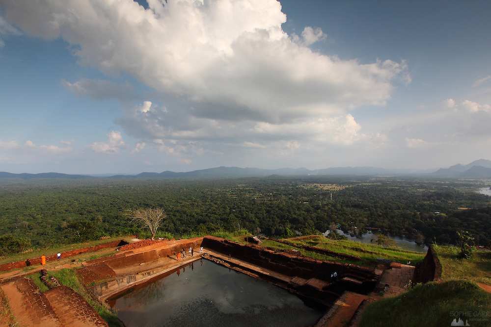View from the top of Sigiriya - Lion Rock - in Sri Lanka's Cultural Triangle