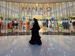 Pinko fashion  shop in Dubai Mall Dubai United Arab Emirates