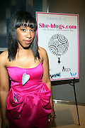 Alyson Leakes at The She-Blogs Launch Party sponsored by Belevedere Vodka and held at Saks Fifth Avenue on July 23, 2009 in New York City..Founded by Allyson Leakes, She-blogs.com is an empowerment blog geared to inspire women to reach fro their dreams and to help them realize that they can lead happy, balance and fulfiling lives