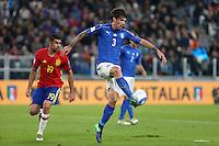 06.10.2016 - Torino - Qualificazioni Mondiali Russia 2016 - Italia-Spagna - Nella foto : Alessio Romagnoli -  Nazionale Italia Calcio