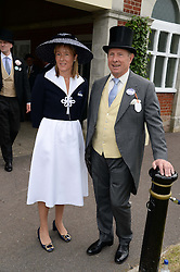 PADDY McNALLY and SARAH TYZACK at the 2nd day of the 2013 Royal Ascot Horseracing festival at Ascot Racecourse, Ascot, Berkshire on 19th June 2013.