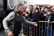 Watford manager Nigel Pearson on arrival ahead of the Premier League match between Bournemouth and Watford at the Vitality Stadium, Bournemouth, England on 12 January 2020.