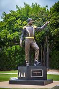 King Kamehameha III Statue, Thomas Square, Honolulu, Oahu, Hawaii