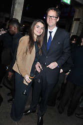 HARRY STOURTON and JENNIFER MEDHURST at a party to celebrate the launch of the new Vertu Constellation phone - the luxury phonemakers first touchscreen handset, held at the Farmiloe Building, St.John Street, Clarkenwell, London on 24th November 2011.