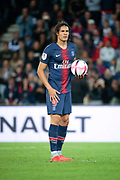 Edinson Roberto Paulo Cavani Gomez (El Matador) (El Botija) (Florestan) (PSG) before kicked it penalty during the French Championship Ligue 1 football match between Paris Saint-Germain and AS Saint-Etienne on September 14, 2018 at Parc des Princes stadium in Paris, France - Photo Stephane Allaman / ProSportsImages / DPPI