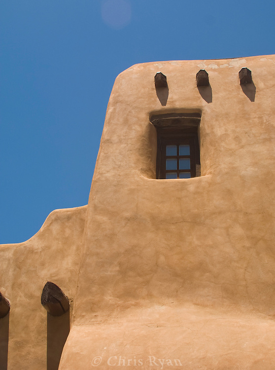 Adobe dwelling, New Mexico