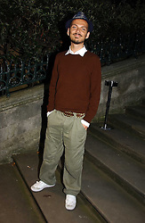 Fashion designer MATTHEW WILLIAMSON at a party hosted by retail property group Westfield at the Natural History Museum, Cromwell Road, London SW7 on 17th September 2006.<br />