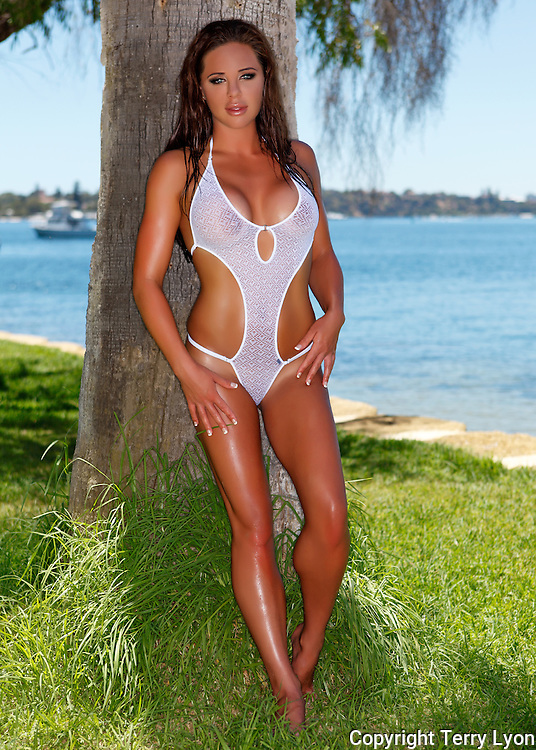 Elise from London beach and river shoot Terry Lyon