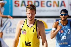 20140607 ITA: EK Beachvolleybal, Cagliari<br /> Jon Stiekema<br /> ©2014-FotoHoogendoorn.nl / Pim Waslander