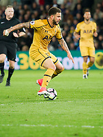 Football - 2016 / 2017 Premier League - Swansea City vs. Tottenham Hotspur<br /> <br /> Kyle Walker of Tottenham Hotspurs attacks , at The Liberty Stadium.<br /> <br /> COLORSPORT/WINSTON BYNORTH